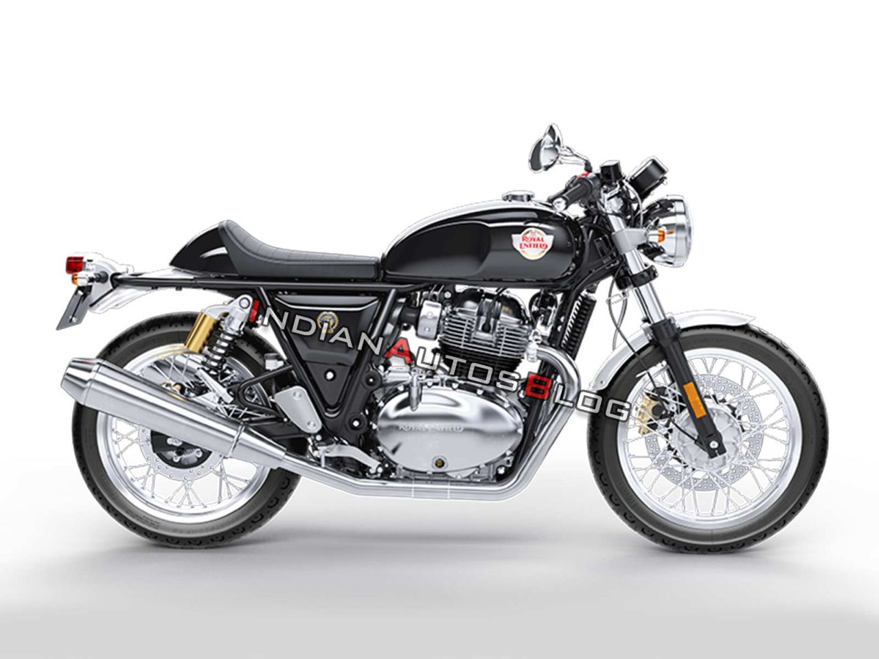 Fuel Tank Swap On The Royal Enfield Continental Gt 650 Yea Or Nay