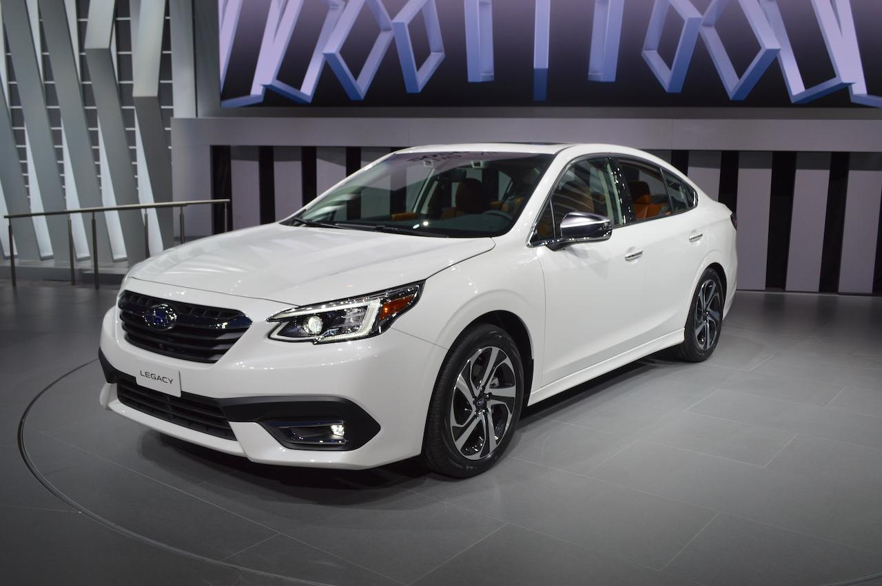 2020 Subaru Legacy Motorshow Focus
