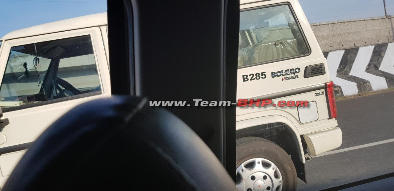 2019 Mahindra Bolero Facelift Spied For The First Time Update