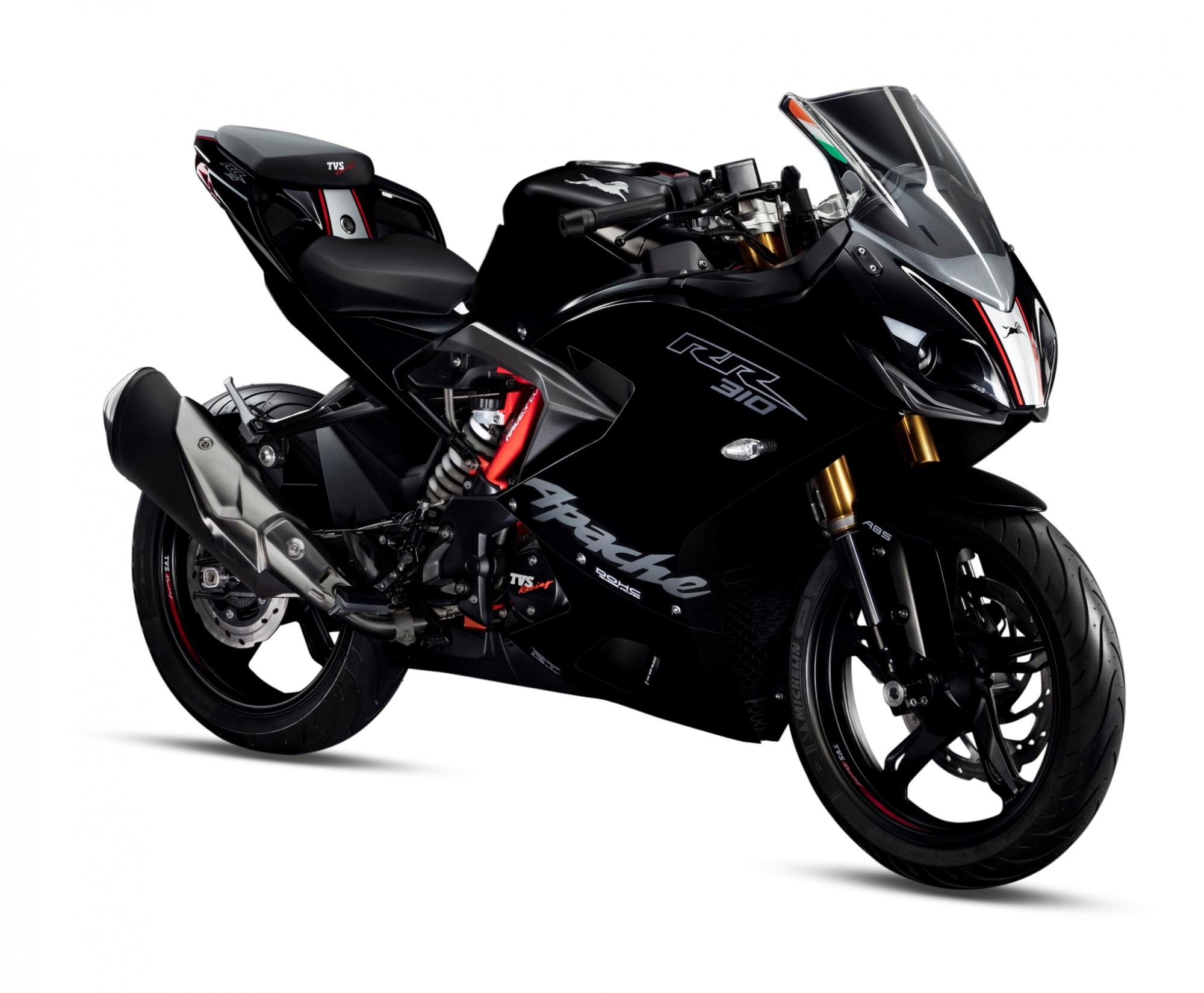 2019 Tvs Apache Rr 310 Launched With Slipper Clutch