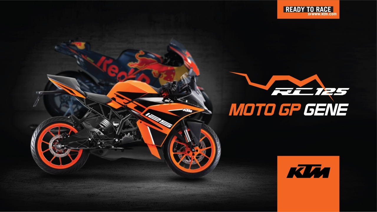 First Official Image Of Indian Spec White Ktm Rc125 Out