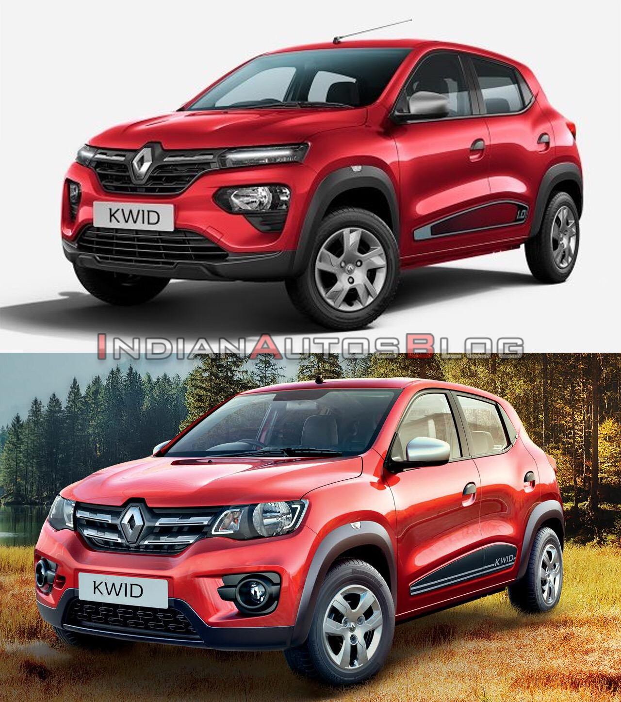 New Renault: 2020 Renault Kwid (facelift) Vs. 2016 Renault Kwid