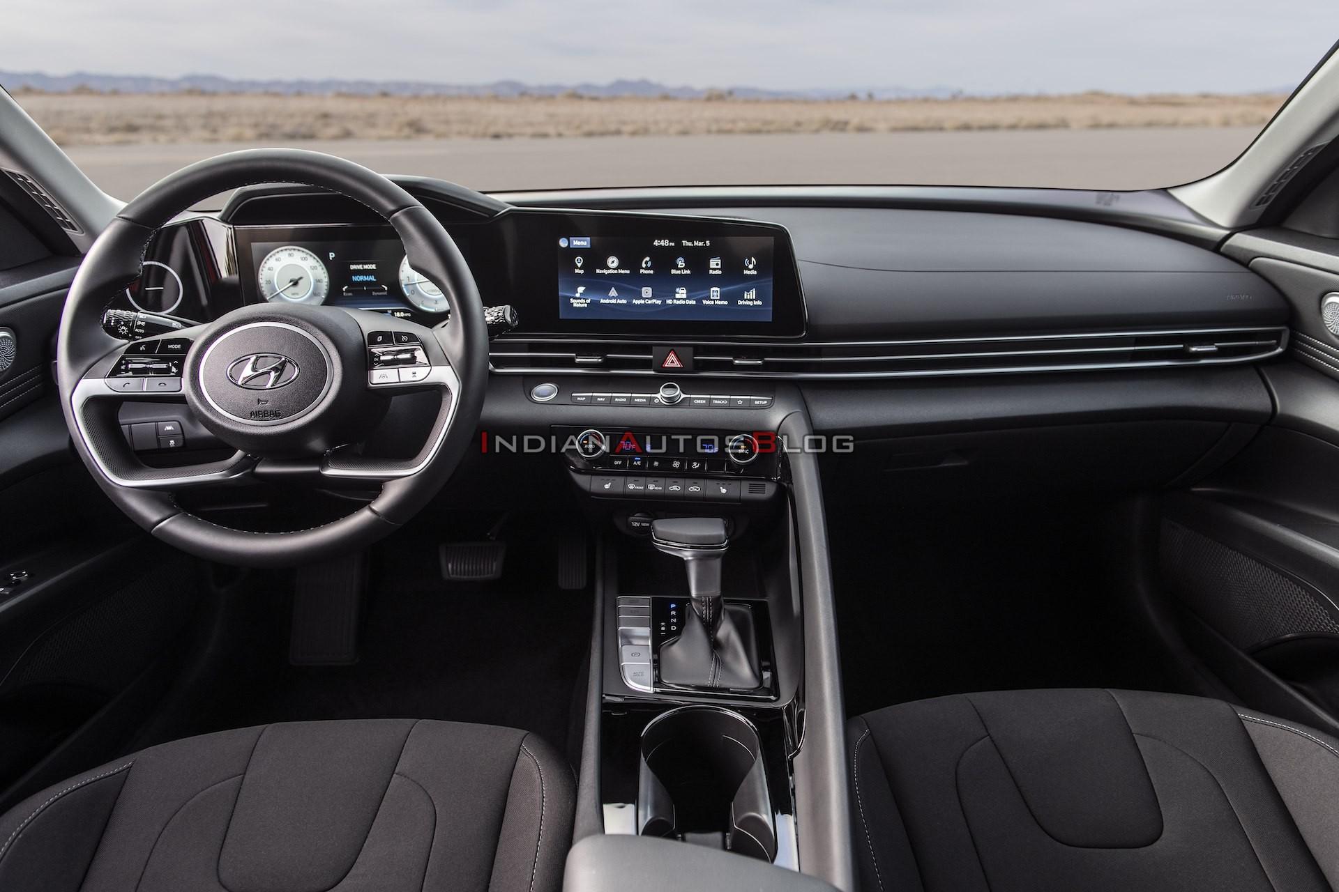 Release Date Hyundai Elantra 2021 Interior
