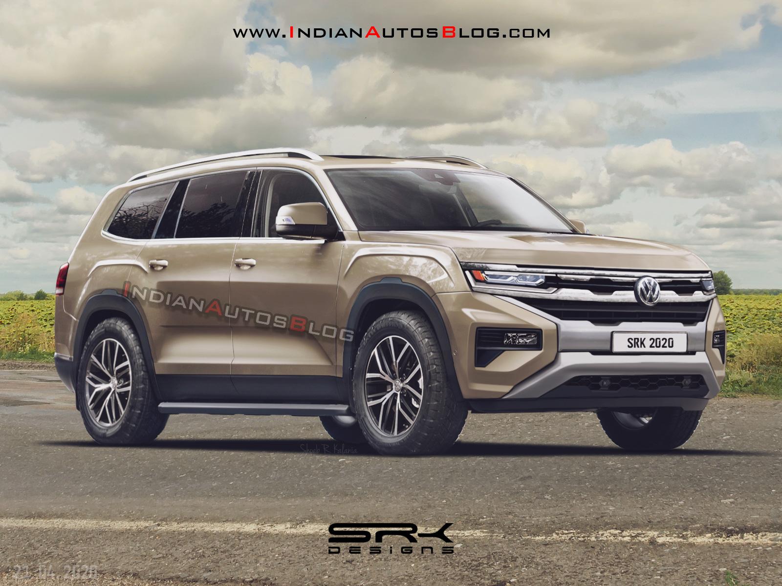 2022 - [Volkswagen] Amarok II Vw-amarok-suv-rendering-200d