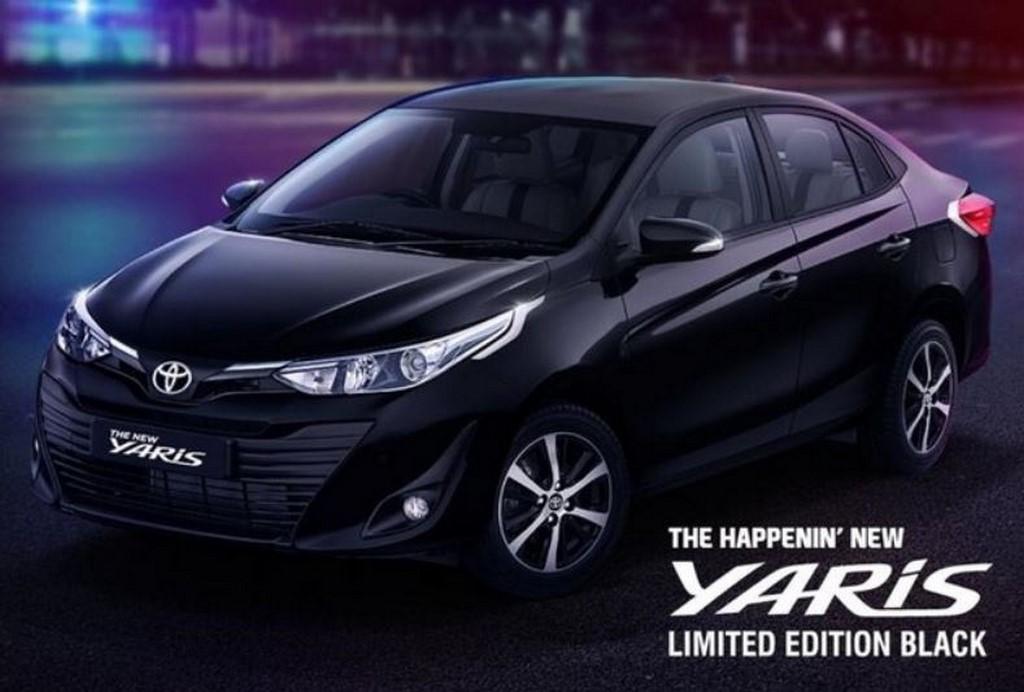 Toyota Yaris Black Edition Teased Looks Sportier Than Standard Model