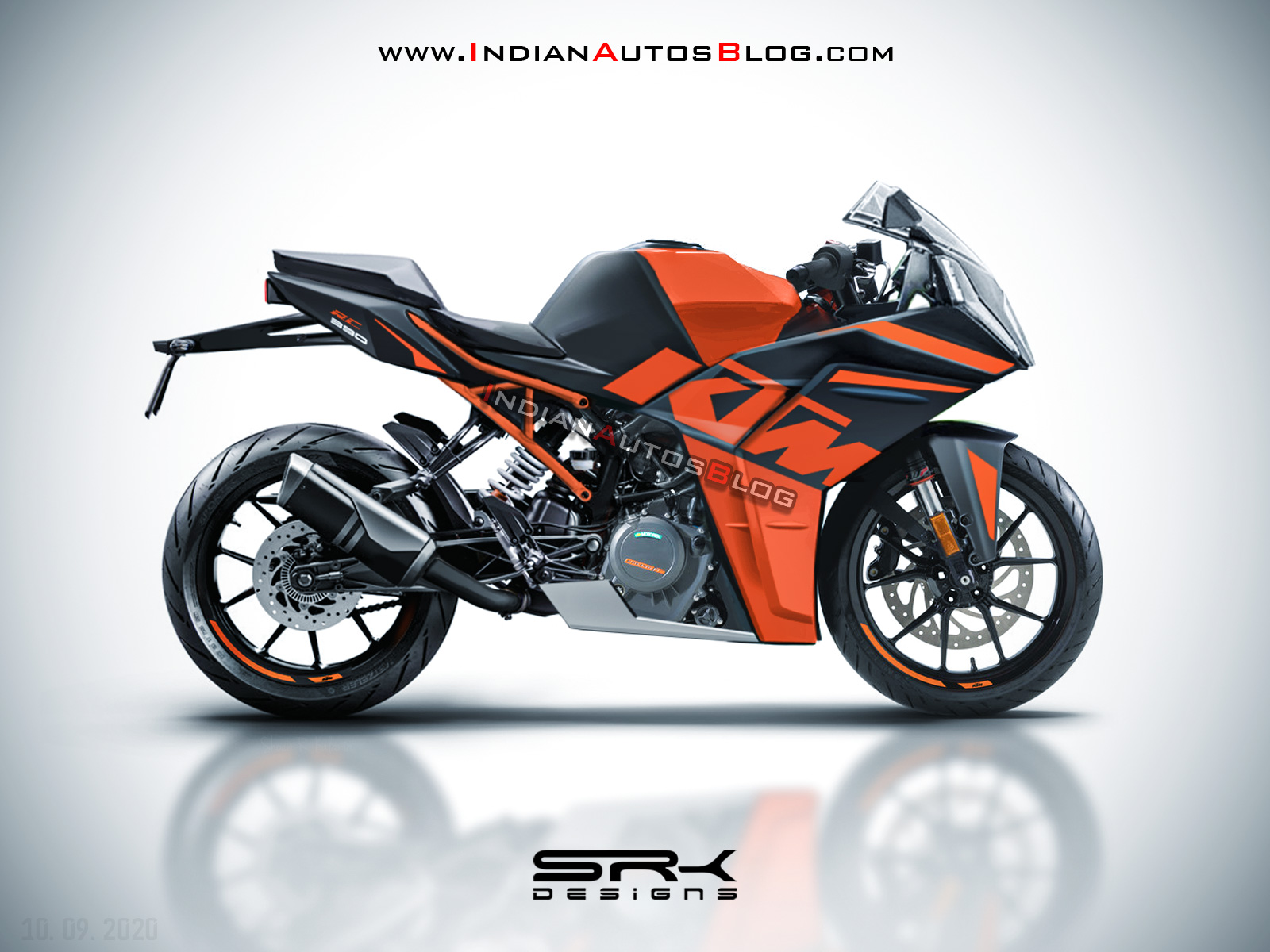 Here S How The 2021 Ktm Rc 390 Could Look Like Iab Rendering