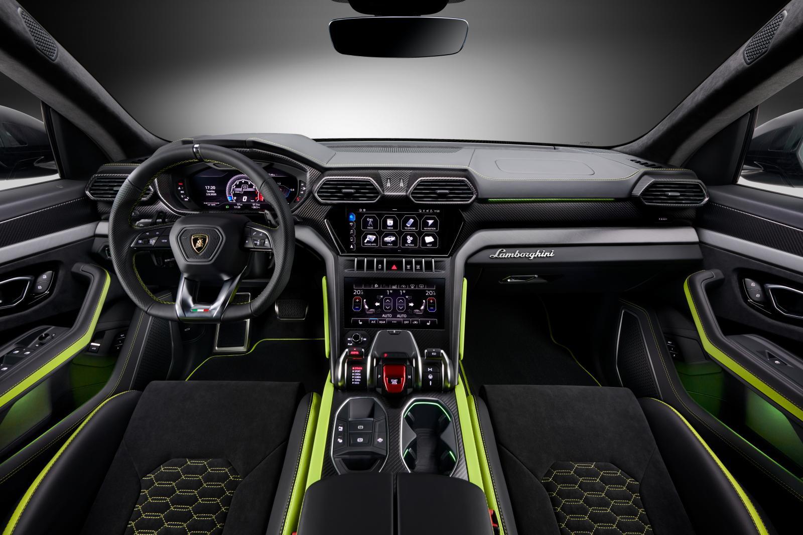 Lamborghini Urus Graphite Capsule Offers Matte Colours With Neon Accents