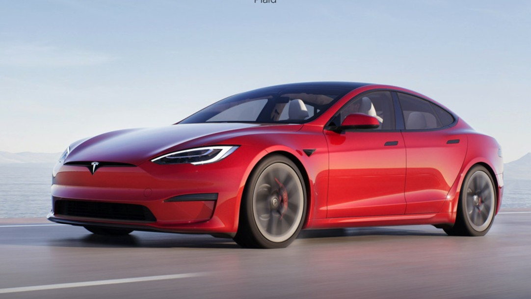 The New Tesla Model S Can Run Cyberpunk 2077 and Witcher 3