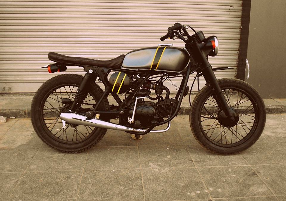 Hero Honda Cd Deluxe Tracker By Ayas Custom Motorcycle