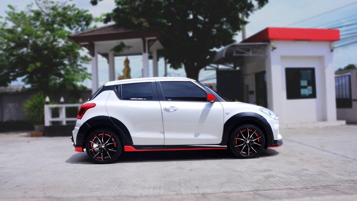 Custom 2018 Suzuki Swift with Zercon body kit from Thailand