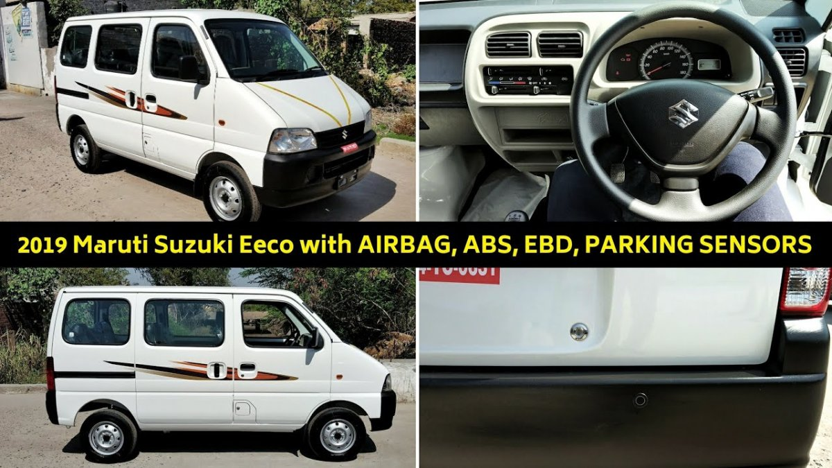 2019 Maruti Eeco With New Safety Features Starts Reaching