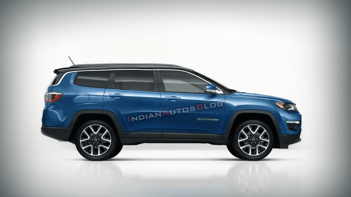 Jeep Compass 7 Seater Jeep Grand Compass New Details Revealed