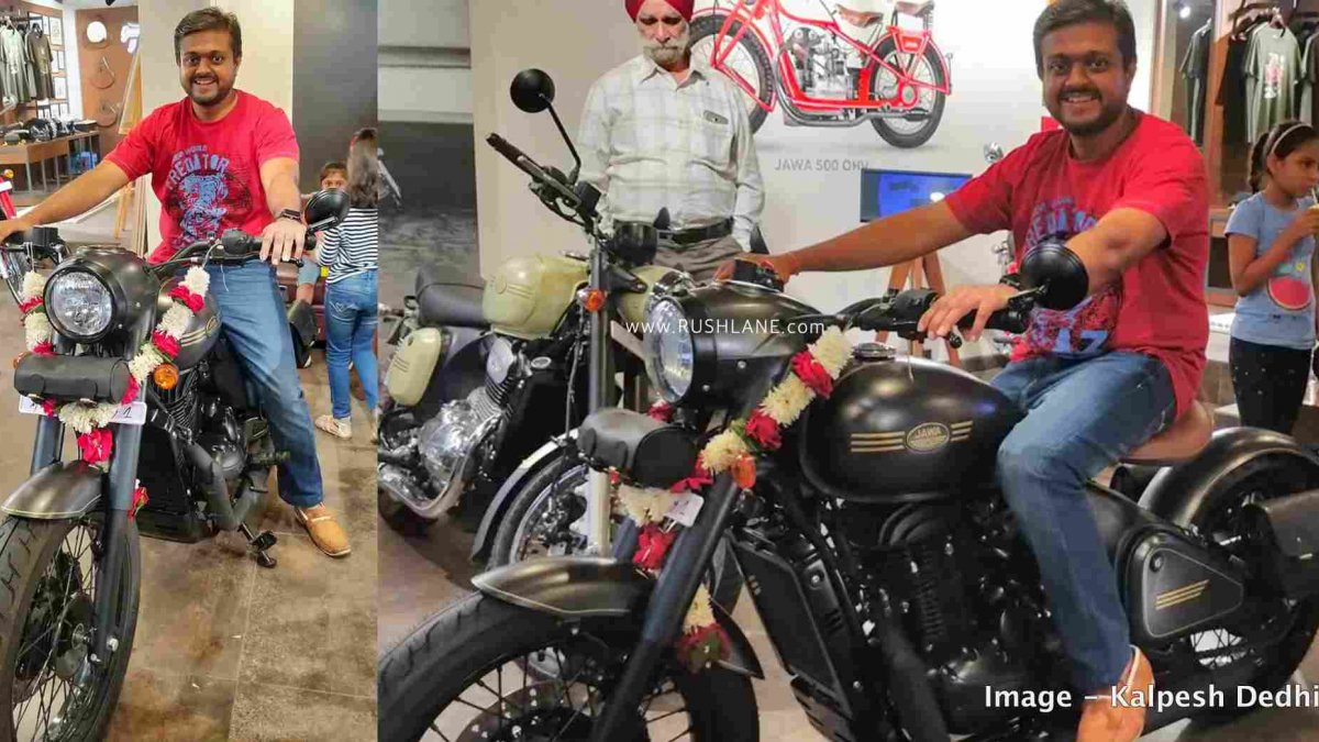 Jawa Perak Bobber Test Ride Starts At Mumbai Dealership Report