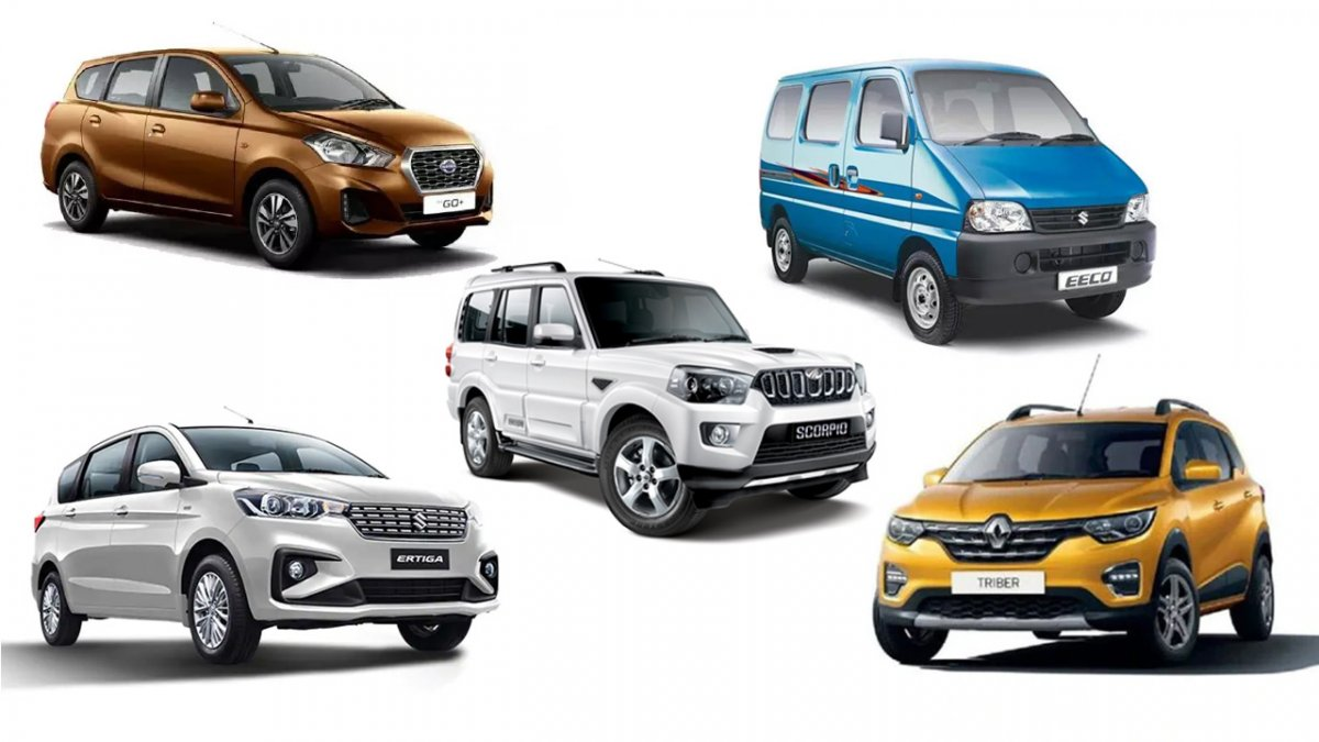 Top 5 Most Affordable Seven Seater Cars You Can Buy In India