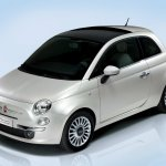 Fiat 500 front view