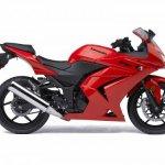 2009-Kawasaki-Ninja-250R-red