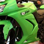 Kawasaki Ninja 250R Up CLose