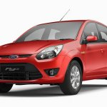 Ford Figo red