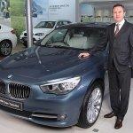 Peter Kronschnabl, President, BMW India Gran Turismo