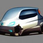 fiat mio 3 concept car