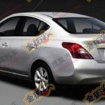 2011 Nissan Sunny rear