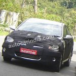 Hyundai RB spied india