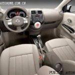 2011 Nissan Sunny interior
