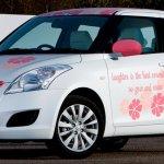 Suzuki Swift pink