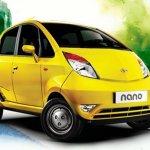 Tata Nano yellow LX
