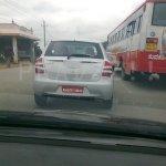 Toyota Etios spied 1