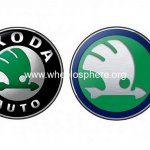 20 years new Skoda Logo