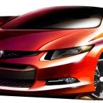 Honda Civic Concept model