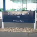 Mercedes Benz Pune Plant Tour 1