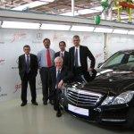 Mercedes Benz Pune Plant Tour 40