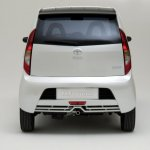 Tata Nano white rear