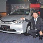 Yoshinori Noritake Toyota Etios