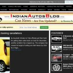 New Indian Autos Blog