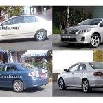 New Toyota Corolla Altis India
