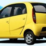 Tata Nano Yellow