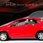 Honda Brio side profile