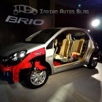 Honda Brio body structure