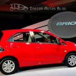 Honda Brio rear right