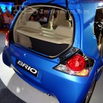 Honda Brio boot space