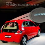 Honda Brio rear right angle