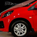 Honda Brio front left wheel