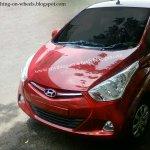 Hyundai Eon Red
