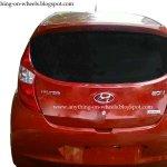 Hyundai Eon rear