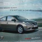Nissan Sunny print Advertisement