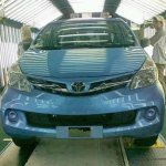 2012 Toyota Avanza front-end