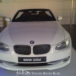 BMW 330d convertible India front-end